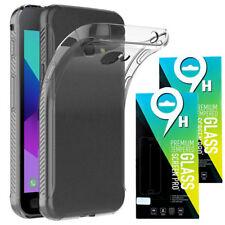 Samsung Galaxy Xcover 4 2x Panzerglas Echt Glas FOLIE Schutzfolie + TPU HÜLLE