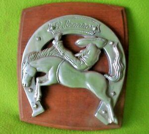 TERRIFIC Vintage Vaquero Buckaroo El Reparo(The Repair) Saddle Shop SIGN~NR