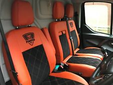 Ford Transit Custom HIGH QUALITY SEAT COVERS ECO LEATHER+ALCANTARA 👀👌👀