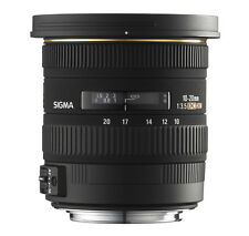 Sigma 10-20 mm 3,5 EX DC HSM OBJECTIF GRAND ANGLE POUR CANON EOS NEUF