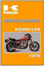 KAWASAKI Workshop Manual KZ900 900 LTD KZ900LTD 1976 Service and Repair