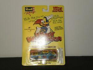 WOODY WOODPECKER WALLY DELLENBACH DIE-CAST RACE CAR REVELL 1997