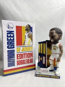 Draymond Green Bobblehead Ltd Ed. SF Jersey Golden State Warriors