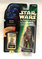 Hasbro Star Wars Power of the Force HOTH CHEWBACCA Episode 1 Flashback 1998