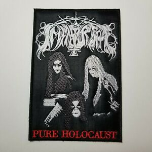 IMMORTAL PURE HOLOCAUST   EMBROIDERED PATCH