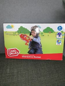 Chad Valley Lights and Sounds Rocket New Gift Unwanted Toy Toddler Child