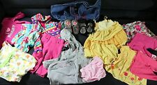 LOT OF TODDLER GIRLS BRAND NAME OUTFITS IN SIZE 6M-12M PLUS 2 SHOES SIZE 4 & 4.5