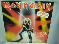 IRON MAIDEN MAIDEN JAPAN RECORD LP CANADA HARVEST