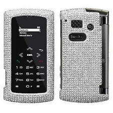 Silver Crystal Bling Case Cover Sanyo Incognito 6760