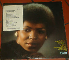 CAROLYN FRANKLIN I'd Rather Be  Lonely LP RCA Promo Soul