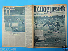 1951 il calcio illustrato n. 9 juventus fiorentina napoli genoa karl aage hansen