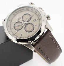 50 m (5 ATM) wasserbeständige lässige Armbanduhren mit Glanz-Finish für Herren