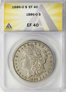 1886-O $1 Morgan Dollar ANACS EF40