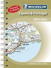 Spain & Portugal 2015 Michelin mini-atlas (Michelin Tourist and Motoring Atlas)