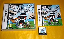 DISNEY ALICE IN WONDERLAND Nintendo Ds Versione Ufficiale Italiana ○○ USATO - B8