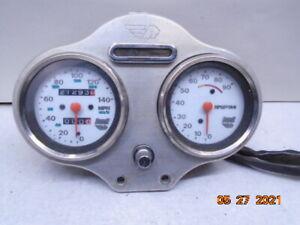 1997 97 Buell Cyclone M2 speedometer tachometer warning light gauge cluster
