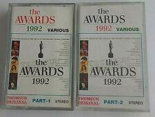 2 K7 THE AWARDS 1992 VARIOUS CASSETTE AUDIO TAPE