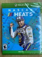 NASCAR Heat 5 XBox One Brand New Factory Sealed Fast Ship w Tracking