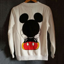 Womens Cartoon Mickey Mouse Hoodie Sweatshirt  Pullover Long Sleeve Jumper Top