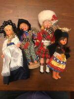 Large Lot of Ethnic Dolls Portugal British