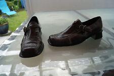 SPIRAL Damen Schuhe Halbschuhe Slipper Gr.40 vintage Leder TOP #6k