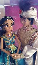 Disney Jasmine & Aladdin Limited Dolls Fairytale Designer - LOW CERT # 95