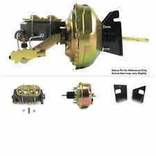 "1973-77 Chevy Chevelle FW Mount Power 7"" Single Brake Booster Kit Drum/Drum SBC"