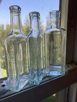 Lot of 3 Vintage Antique Medicine Bottles - Pinex, Chas Fletcher's, Foley & Co.