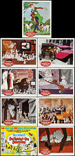 """Movie Posters 101 Dalmatians 1961 9 Lobby Cards Title 11""""x14"""" VF 8.0 Rod Taylor"""