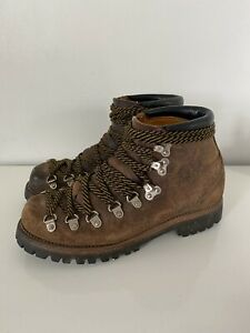 VTG SEARS LEATHER MOUNTAINEERING HIKING BOOTS SIZE 7.5 D