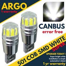 Fits Nissan Primastar X83 8SMD LED Error Free Canbus Side Light Beam Bulbs Pair