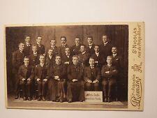 Saint-Nicolas-Groupe Hommes-dignitaire religieux?/CDV Sint-Niklaas Belgique
