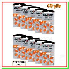 batterie per apparecchi acustici 13 rayovac extra advanced 60 pile per protesi