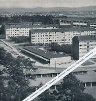 Karlsruhe - Waldstadt - Neue Wohnhäuser - um 1965
