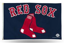 "Boston Red Sox MLB Banner Flag 3' x 5' (36"" x 60"") ~NEW"
