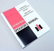 International Ih 454 474 475 574 674 2400 2500 Tractor Owners Operators Manual