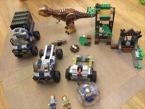 LEGO Jurassic World 75929 Carnotaurus Gyrosphere Escape Incomplete