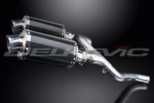 "Delkevic 9"" Carbon Fiber Oval Mufflers - Honda VFR800 V-Tec 2002-2009 Exhaust"