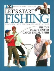 Step Into Fishing, Let's Start Fishing, Bill Classon, Steve Starling, Free Post