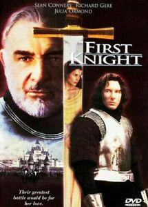 First Knight DVD - DELUXE WIDESCREEN - 1995 Sean Connery Movie Medieval Action