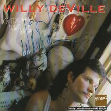 """Willy DeVille Autogramm signed CD-Cover """"Limited Edition"""""""