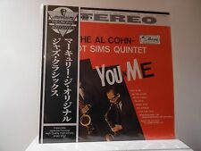 "AL COHN & ZOOT SIMS - MERCURY RECORDS - EXPR-1001 - STEREO-IMPORT - ""SEALED"""