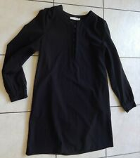See U Soon robe noire manches longues taille 3
