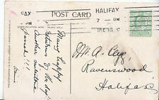 Genealogy Postcard - Family History - Clegg - Ravenswood - Halifax    A3418