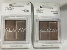 ALMAY Shadow Squad Eyeshadow#180 Ambition#110 Cause A Stir Lot of 2