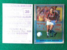 CALCIATORI 1992-93 92-1993 n 35 VAN BASTEN SCUDETTO  Figurina Sticker Panini NEW