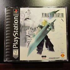 Final Fantasy VII 7 PS1 PlayStation UNPLAYED COPY NEW COMPLETE MINT