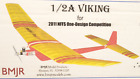 """1/2A VIKING"", Laser Cut, Free Flight Kit, W/S 42"" 1/2A Power"