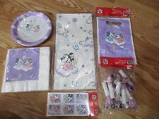 6pc Lot Party Express Baby Mickey Minnie Multi-color 1st Birthday Party Good NOS