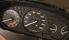 Gauges face Overlay SPOON style black Honda  Civic 96-00 Ek JDM!! Gauge Cluster